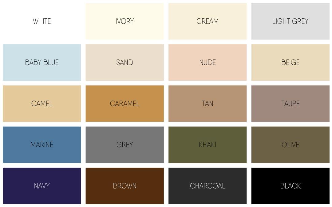 Neutral-paint-colour-palette