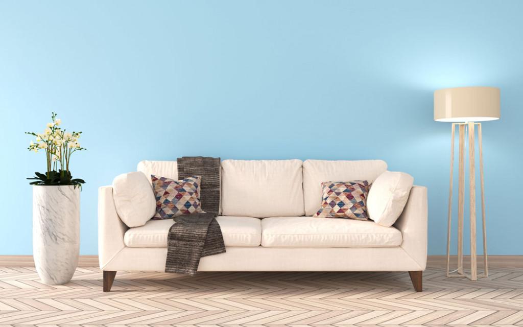 Cream-and-Aqua-paint-colour-combinations-living-room