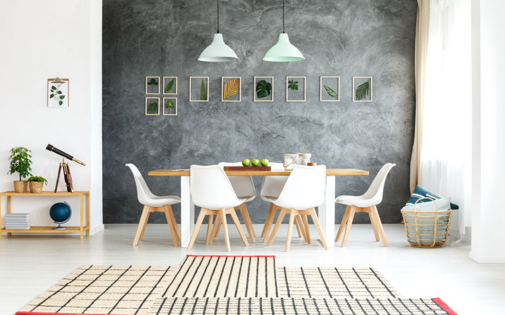 Grey-on-Grey-colour-combinations-for-dining-room