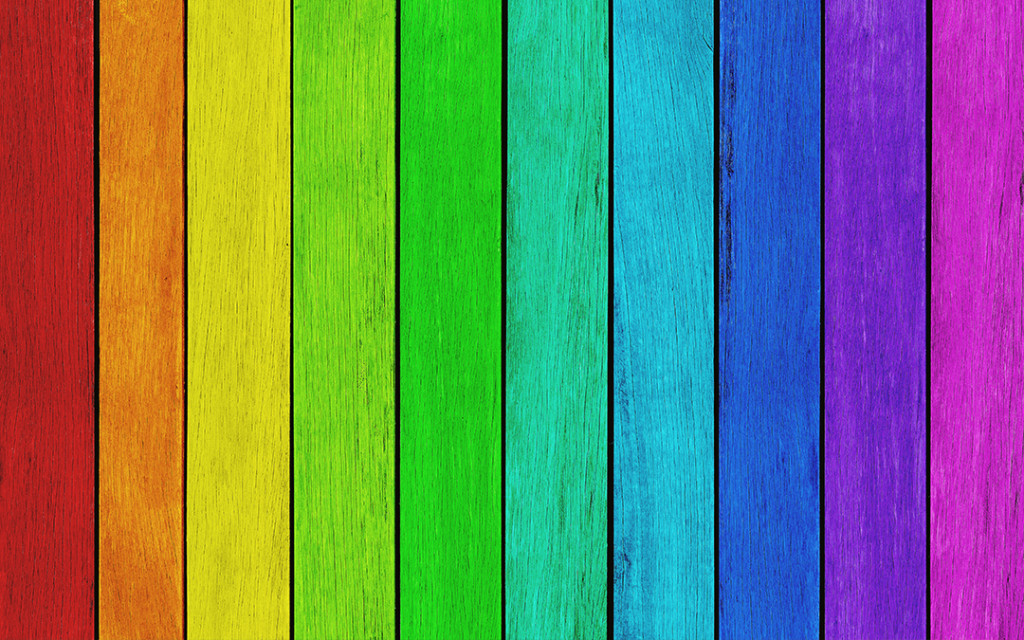 Rainbow-wall-paint-colour-combo