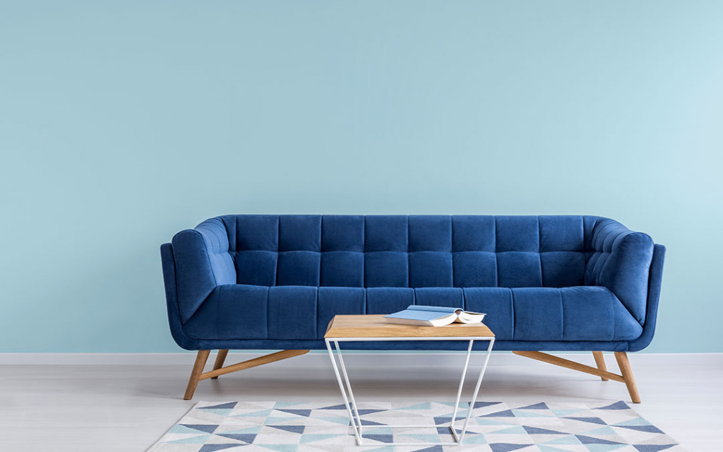 wall-painted-with-aqua-and-Misty-Blue-coloured-sofa