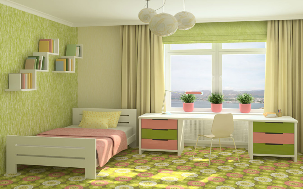 Lime-green-and -Yellow-paint-colour-combinations
