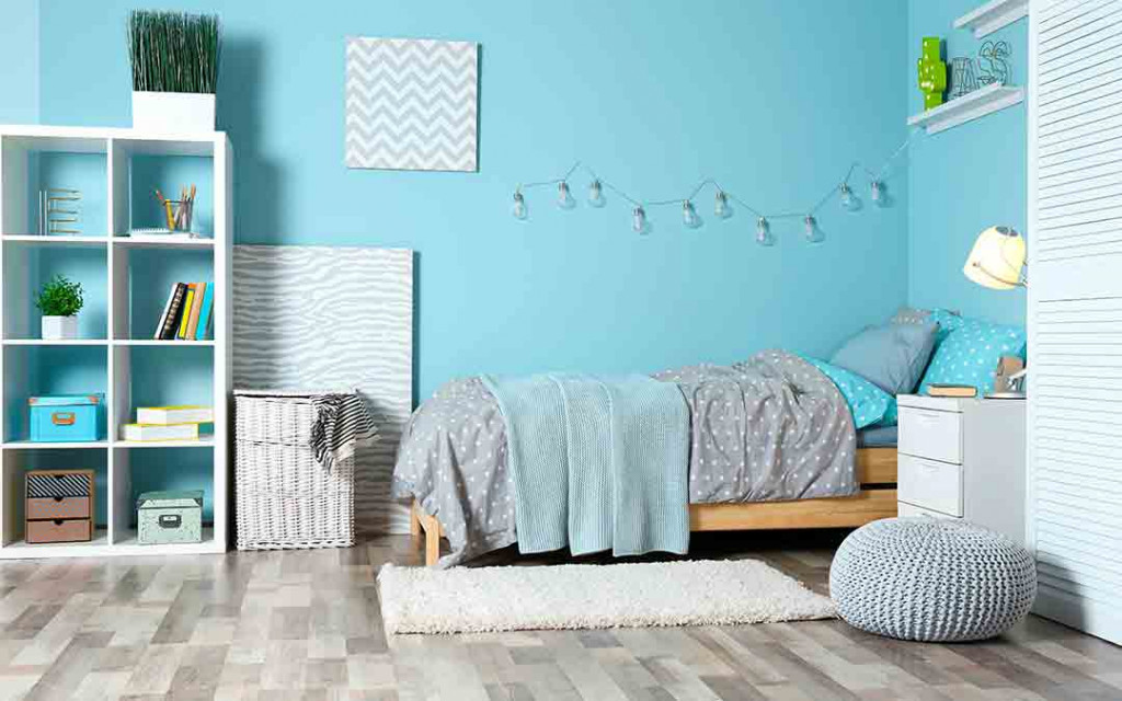 Satin-paint-finish-for-kids-bedroom