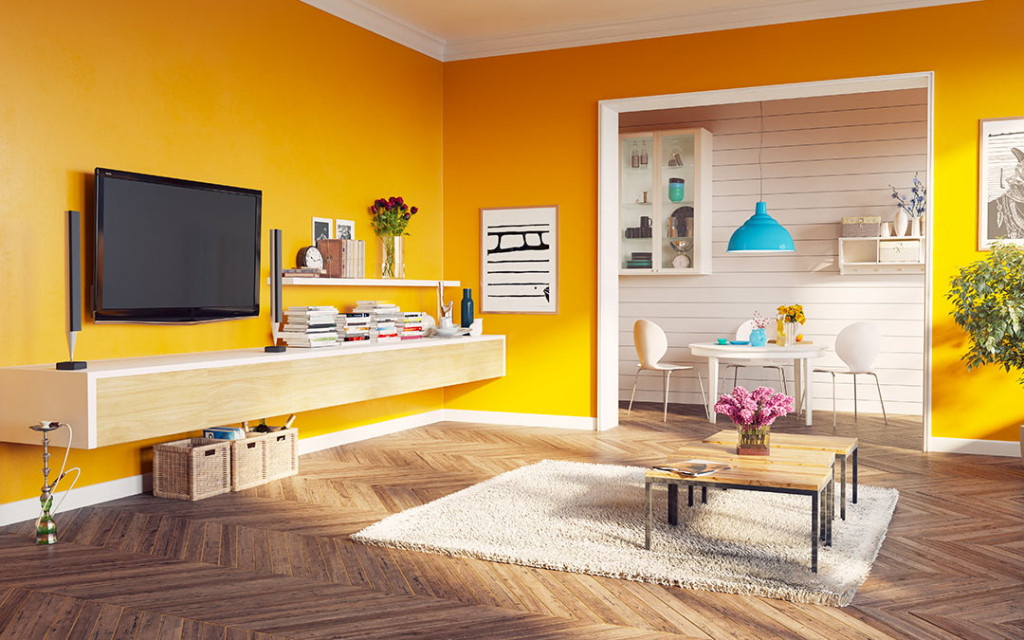 10 Wall Paint Colour Ideas To Make Your Living Room More ...