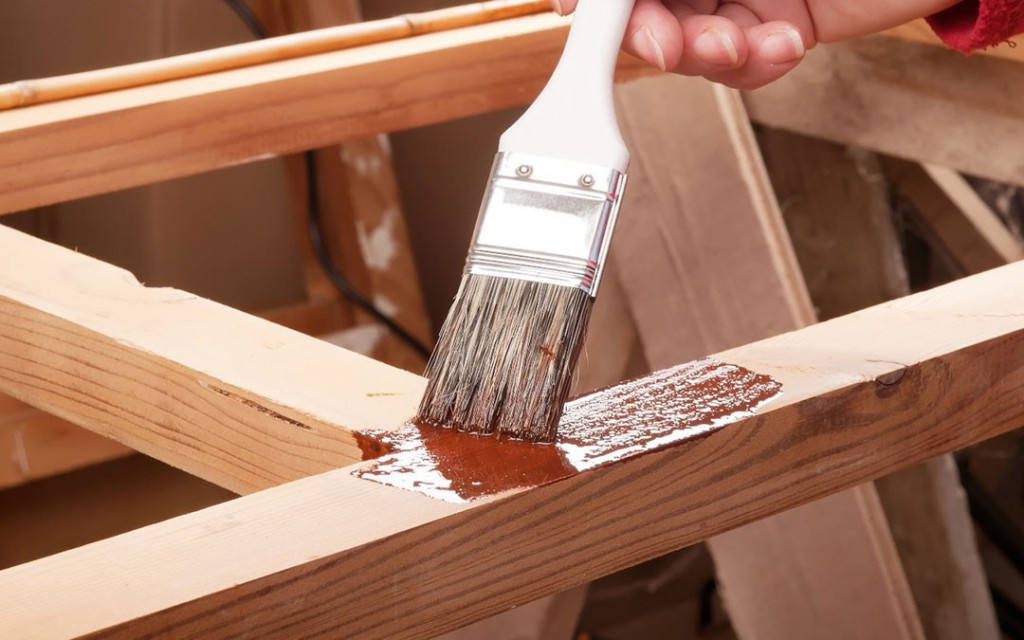 adhesion quality on wooden furniture