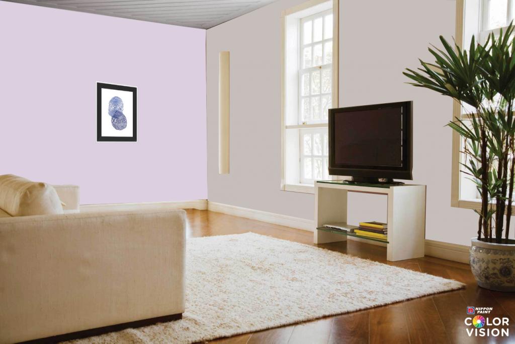 Drifting Lavender wall colour ideas