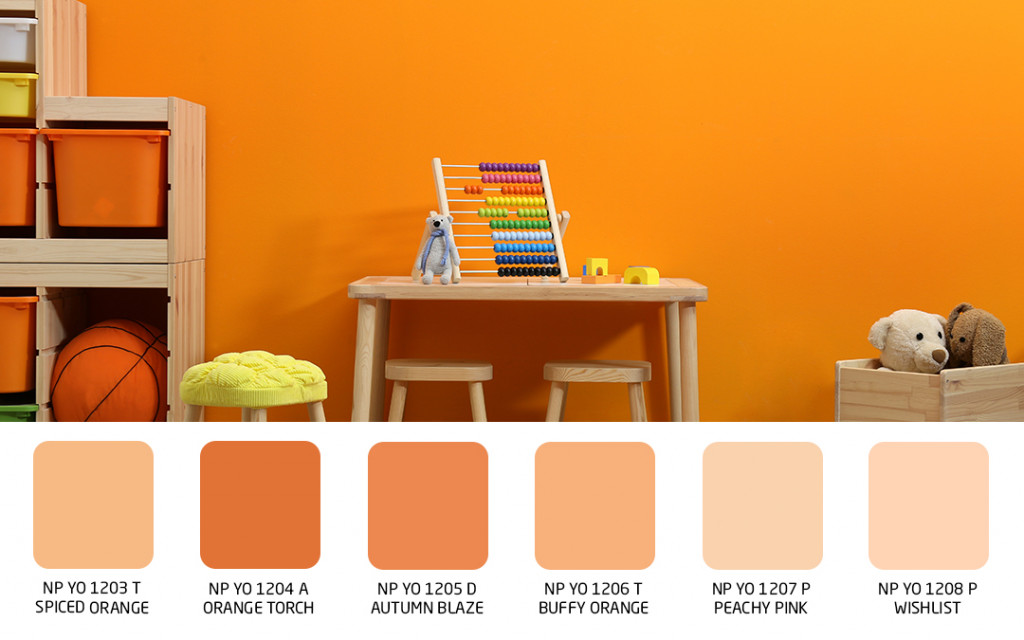 wall color for children playroom
