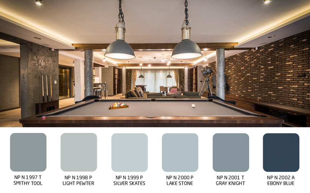 wall colour for best game room