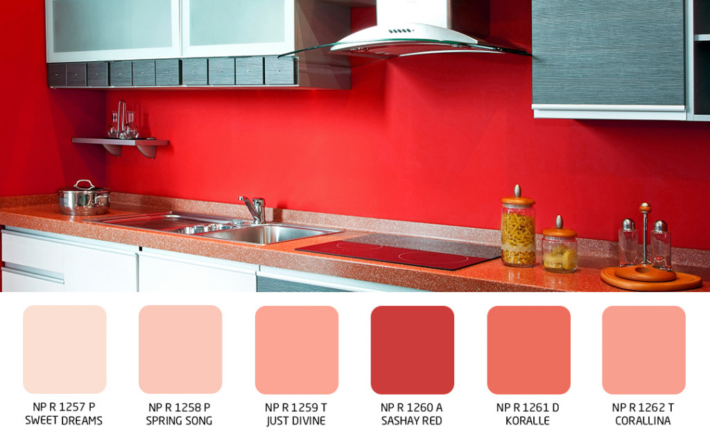 wall color for versatile kitchens