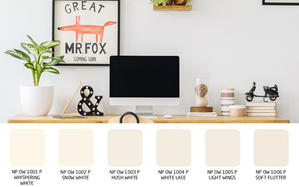 wall colour for your ideal home office