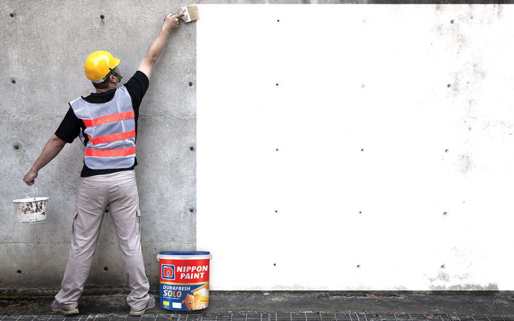 specially formulated paint
