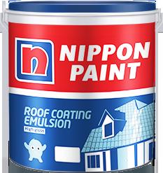 Roof coating paint