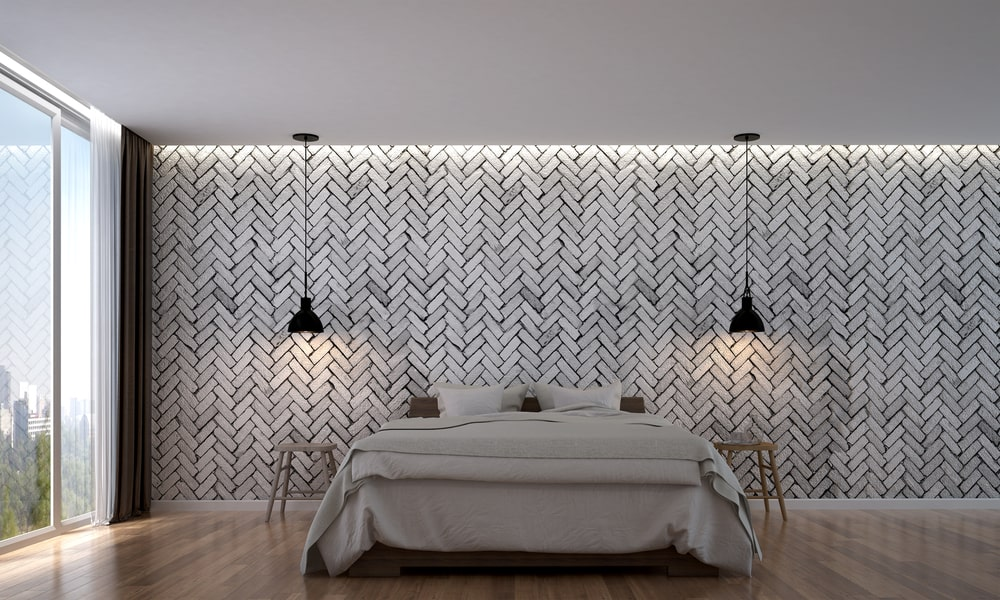 Brick wall texture paint design from Nippon Paint