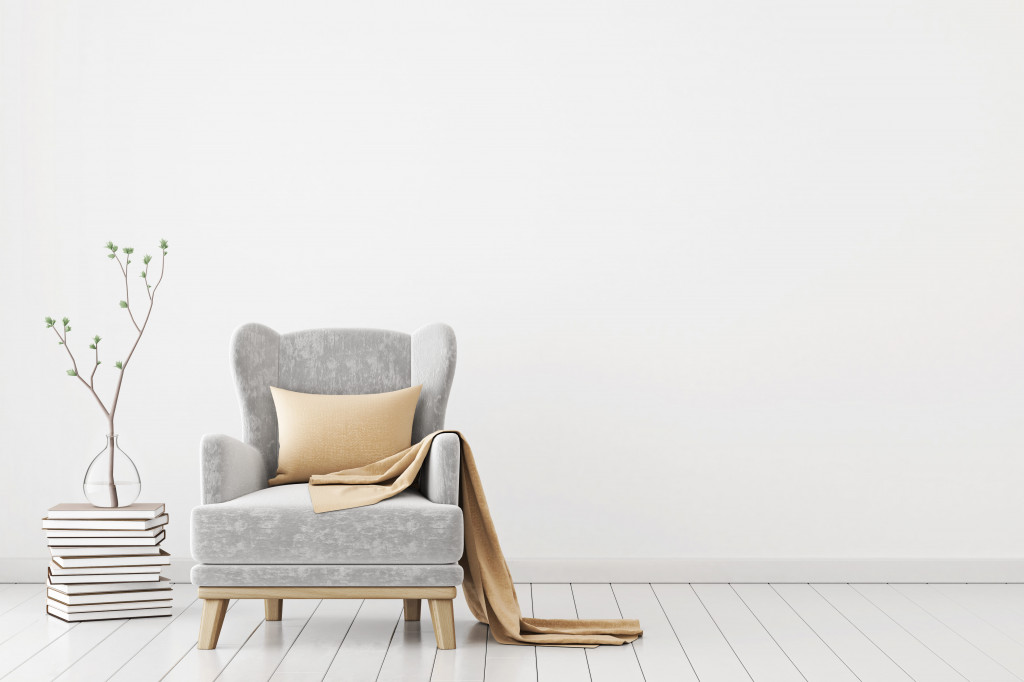 Neutral colours as interior wall paint