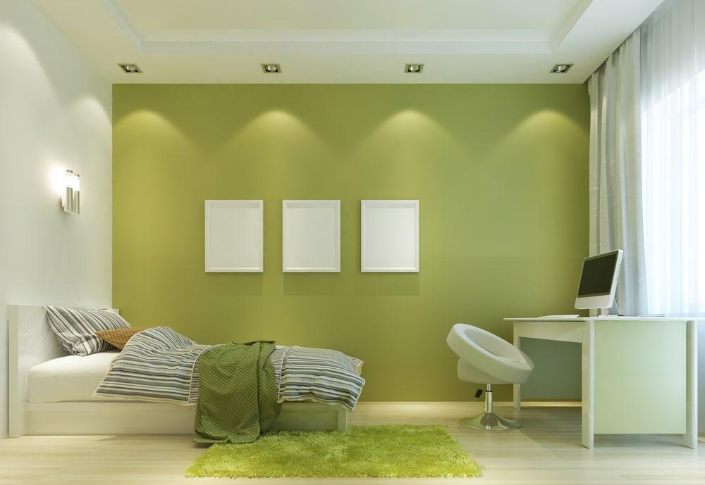Green Wall paint Design