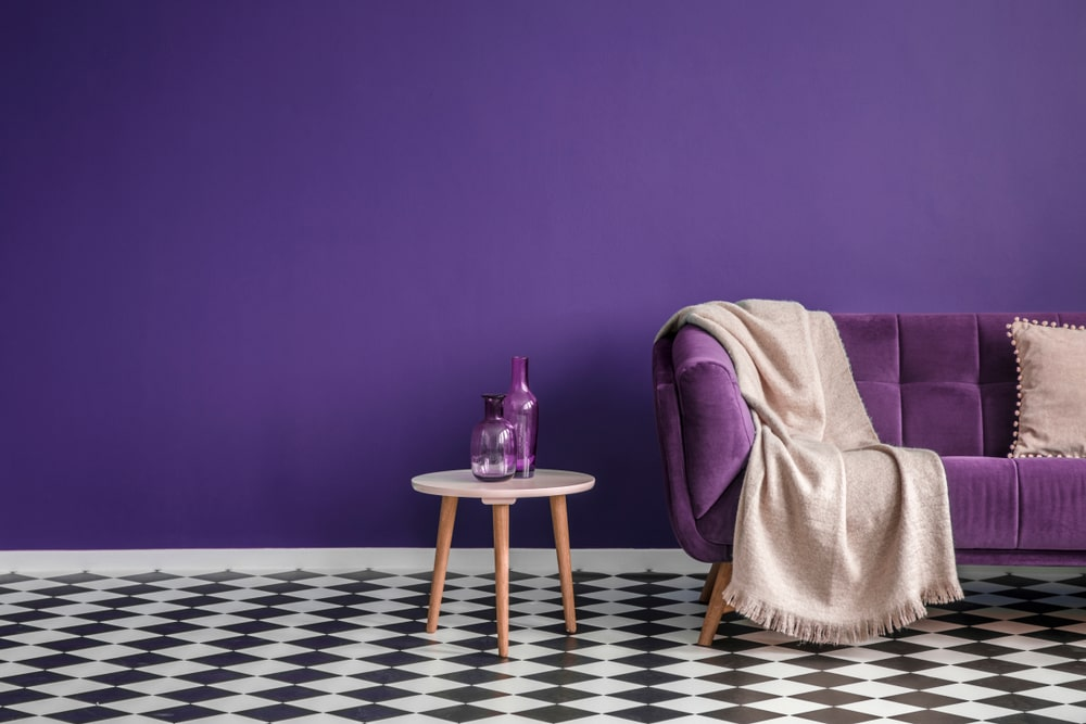 Red Purple home painting colour ideas