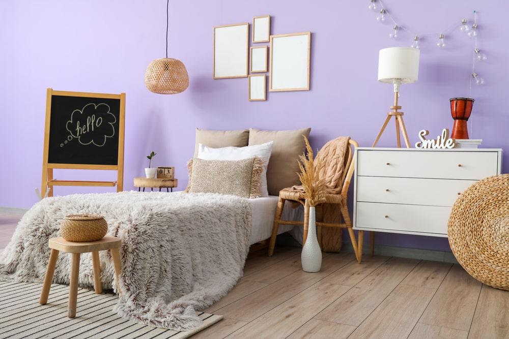 Lavender interior wall Paint ideas